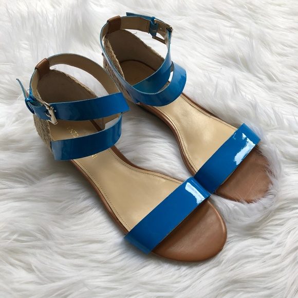 eacdf815617 Enzo Angiolini Shoes - Enzo Angiolini Blue And Brown Sandals